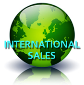 International Sales globe