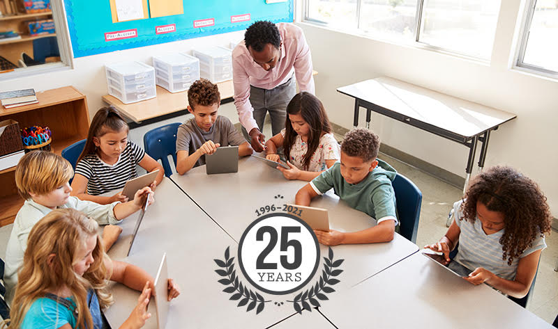 25 years of EarthWalk in the classroom