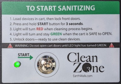 CleanZone operating instructions-green
