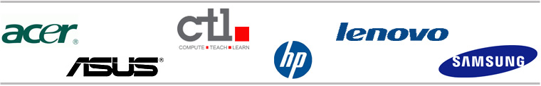 Partner logos: devices