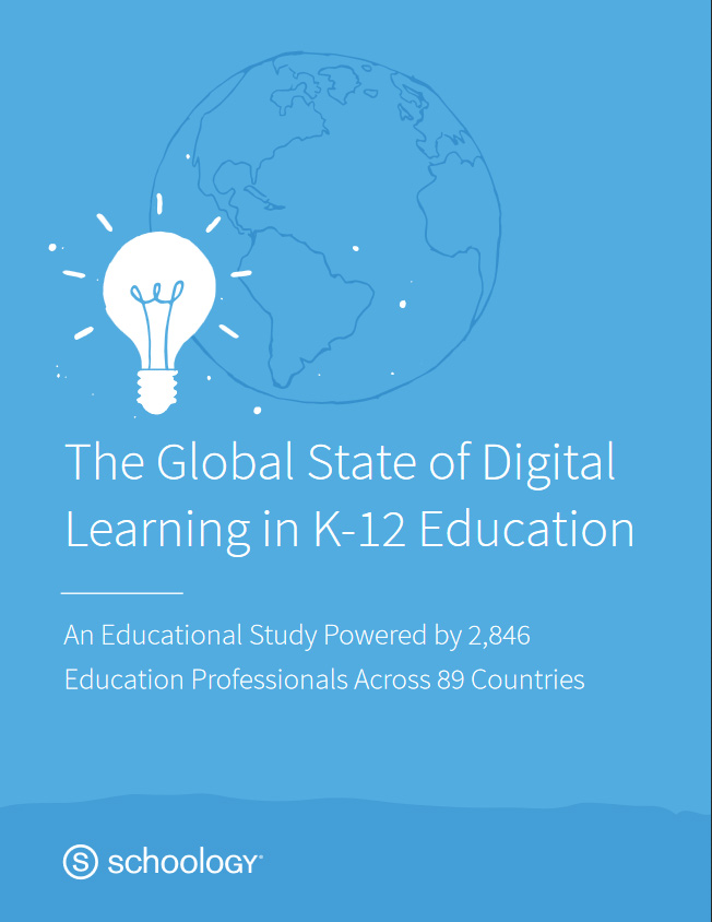 Global State of Digital Learning in K-12 Education report