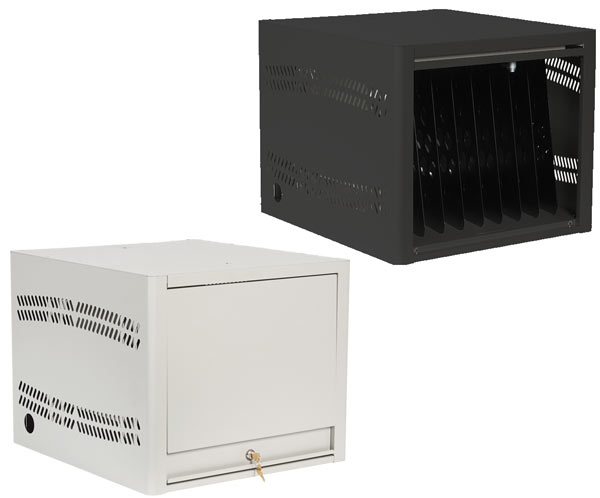 Single Ensemble storage cube, open and closed door