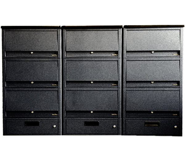 Stacked ensemble laptop & tablet storage library