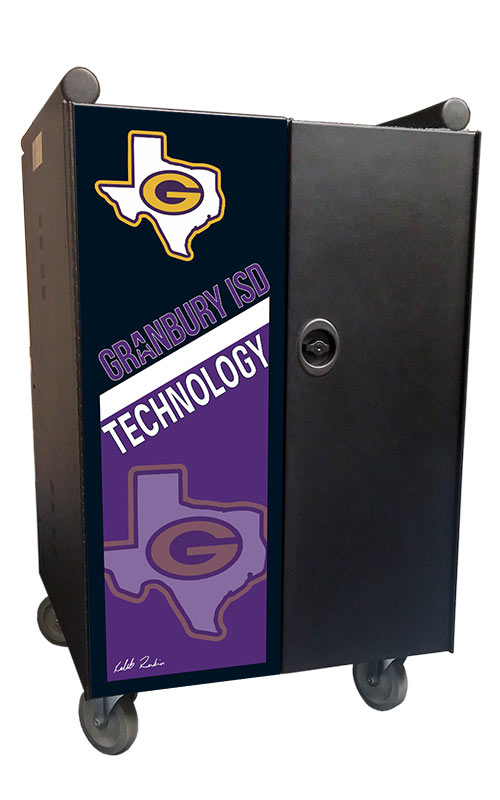 Granbury ISD Technology door graphic