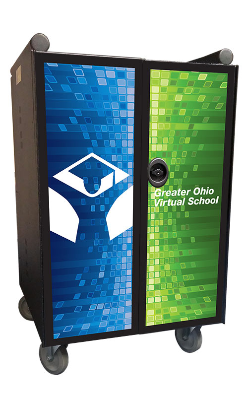 Greater Ohio Virtual School door graphic