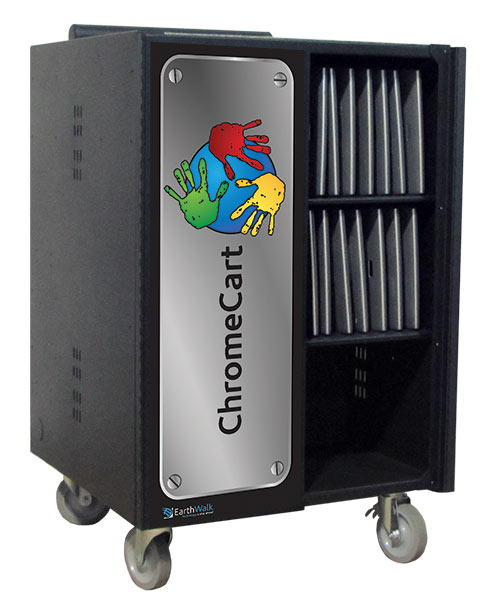 V-Series cart with ChromeCart graphic