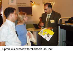 Product overview for online schools